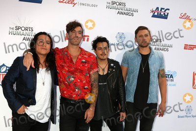 American Authors Photo - American Authors Bandat the 4th Annual Sports Humanitarian Awards The Novo Los Angeles CA 07-17-18