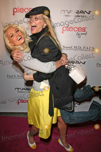 Julie McCullough Photo - Holly Madison and Julie McCullough at the Pieces of Ass Live Performance Key Club Hollywood CA 04-02-08