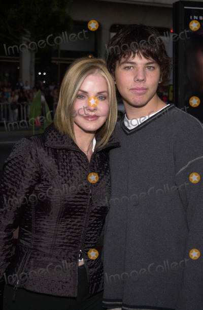 Priscilla Presley Photo - Priscilla Presley and son Navarone Garibaldi at the premiere of MGMs Windtalkers at the Chinese Theater Hollywood 06-11-02