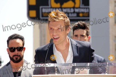 AJ MCLEAN Photo - AJ McLean Nick Carter Kevin Richardsonat the Backstreet Boys Star on the Walk of Fame Hollywood CA 04-22-13