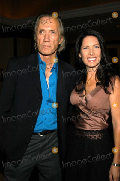 Annie Bierman Photo - David Carradine and Annie Bierman at 29th Annual Dinner of Champions Award and Benefit Fundraiser Century Plaza Hotel Century City Calif 09-25-03