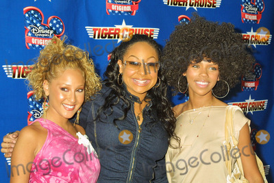 Adrienne Bailon Photo - Adrienne Bailon Raven and Kiely Williams at the Disney Channel Original Movie Tiger Cruise Premiere at the Directors Guild of America Los Angeles CA 07-27-04