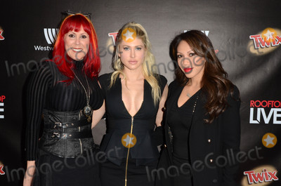 teri groves Photo - Teri Groves Caya Hefner Kass Dylanat Westwood One Rooftop Live The Perch Los Angeles CA 11-19-16