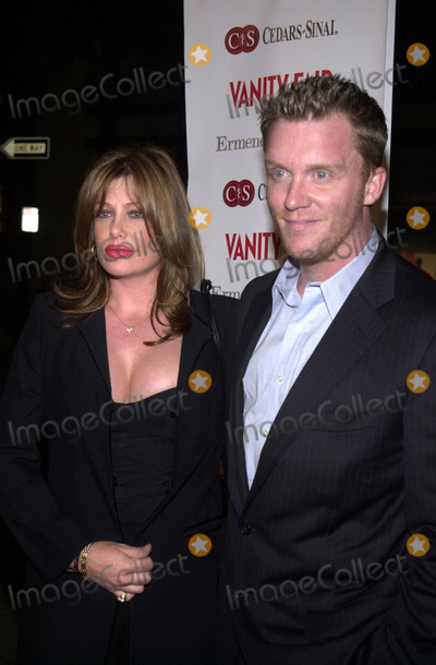 Anthony Michael Hall Photo -  Anthony Michael Hall and Kelly LeBrock at the 3rd Annual Vanity FairErmenegildo Zegna Cast Your Ballot party to benefit Cedars-Sinais COACH for Kids Mobile Medical Clinic Zegna Beverly Hills 03-21-01