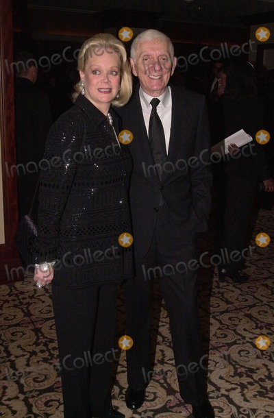 Aaron Spelling Photo -  Aaron Spelling and wife Candy at the 2000 Golden Laurel Awards Beverly Hills 03-02-00