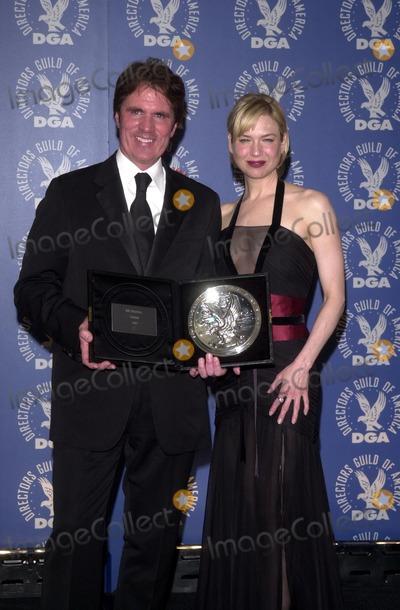 Renee Zellweger Photo - Rob Marshall and Renee Zellweger 55th Annual DGA Awards Century Plaza Hotel Century City CA 03-01-03