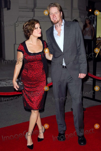 Thaddaeus Scheel Photo - Marcia Gay Harden and Thaddaeus Scheelat the Los Angeles premiere of Rails And Ties Steven J Ross Theatre Burbank CA 10-23-07