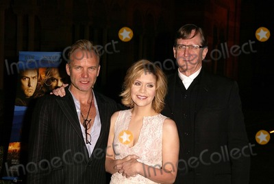 Alison Krauss Photo - Sting Alison Krauss and T-Bone Burnett at a celebration of the words and music of Cold Mountain Royce Hall UCLA Los Angeles CA 12-08-03