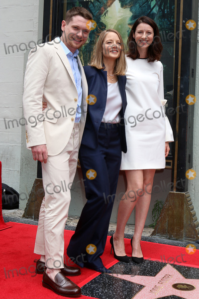 Jack OConnell Photo - Jodie Foster Jack OConnell Caitriona Balfeat the Jodie Foster Star on the Hollywood Walk of Fame Ceremony Hollywoodm CA 05-04-16