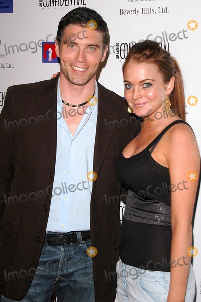Anson Mount Photo - Anson Mount and Lindsay Lohan at the Defense For Children International Fundraiser at the Beverly Hills Mercedes Benz Showroom Beverly Hills CA 05-12-04