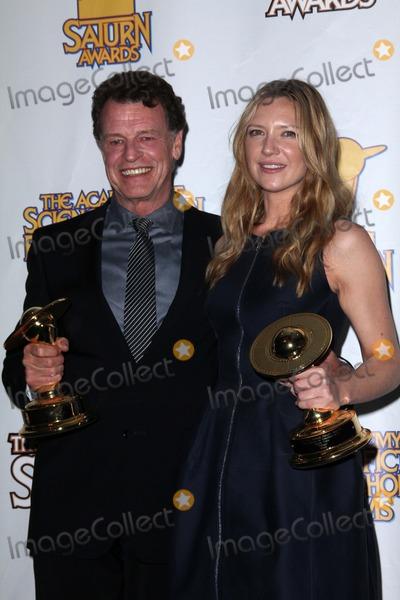 Anna Torv Photo - John Noble Anna Torvat the 37th Annual Saturn Awards Press Room Castaway Burbank CA 06-23-11