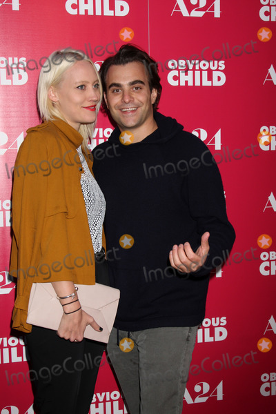Annette Nyseth Photo - Annette Nyseth Nick Jareckiat the Obvious Child LA Screening ArcLight Hollywood CA 06-05-14