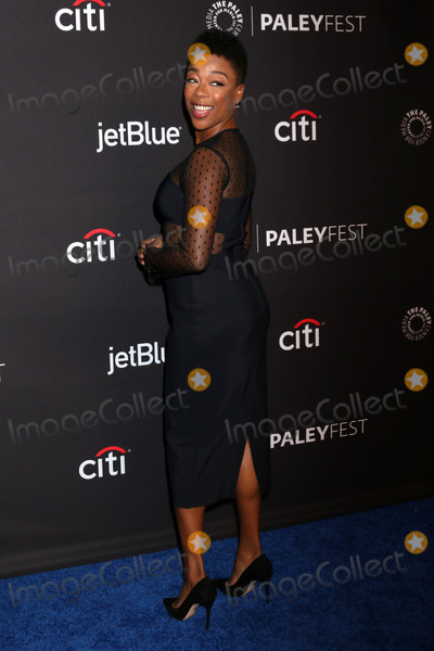 Samira Wiley Photo - Samira Wileyat the 2018 PaleyFest Los Angeles - The Handmaids Tale Dolby Theater Hollywood CA 03-18-18