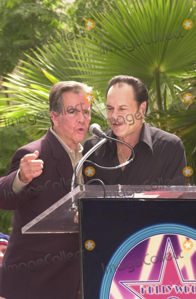 KC and the Sunshine Band Photo - Dick Clark and Karry Wayne KC Casey at KC and The Sunshine Band induction ceremony into Hollywoods Walk of Fame Hollywood Blvd CA 08-02-02
