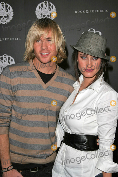 Ashley Parker Photo - Ashley Parker Angel and wife Tiffanyat Rock And Republic Spring Fashion Show Area West Hollywood CA 10-18-06