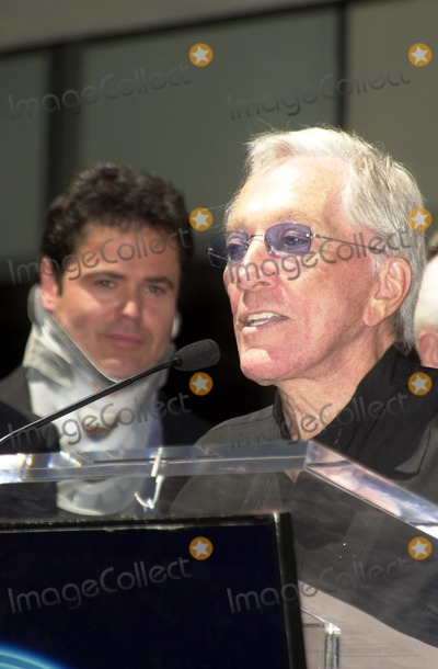 Andy Williams Photo - Donny Osmond and Andy Williams at the Osmond Family Star on the Hollywood Walk of Fame Ceremony Hollywood CA 08-07-03