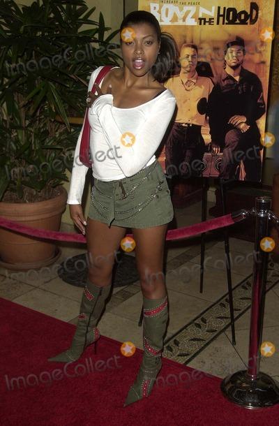 Taraji P Henson Photo - Taraji P Henson at a party celebrating Singletons induction into the Hollywood Walk of Fame Loggia Hollywood CA 08-26-03