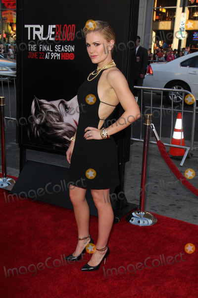 Anna Paquin Photo - Anna Paquinat the True Blood Season 7 Premiere TCL Chinese Theater Hollywood CA 06-17-14