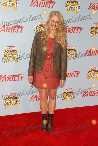 Ayla Kell Photo - Ayla Kell at Varietys 3rd Annual Power of Youth Paramount Studios Hollywood CA 12-05-09
