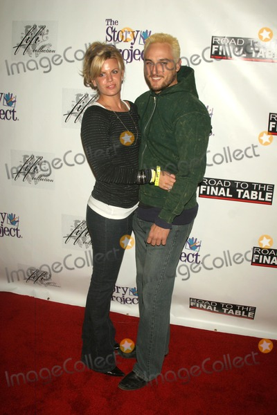 Alex A Quinn Photo - Erika Genovese and Alex A Quinnat Poker for Katrina Relief Montmartre Lounge Hollywood CA 12-01-05