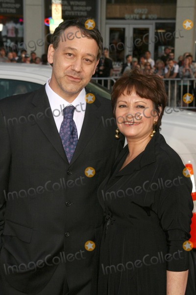 Adriana Barraza Photo - Sam Raimi and Adriana Barraza at the World Premiere of Drag Me To Hell Graumans Chinese Theatre Hollywood CA 05-12-09