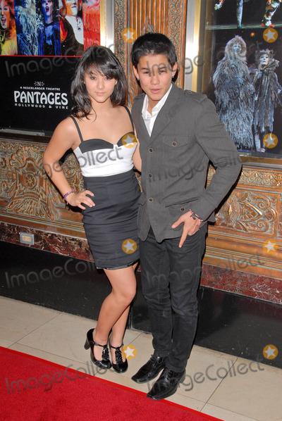 Fivel Stewart Photo - Fivel Stewart and BooBoo Stewart at the Cats Touring Company Opening Pantages Theater Hollywood CA 03-09-10