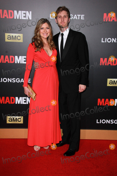 Aaron Staton Photo - Connie Staton Aaron Statonat the Mad Men Black and Red Ball celebrating the final seven episodes Dorothy Chandler Pavilion Los Angeles CA 03-25-15