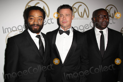 Steve Mc Queen Photo - Chiwetel Ejiofor Brad Pitt Steve McQueenat the 25th Annual Producers Guild Awards Beverly Hilton Beverly Hills CA 01-19-14