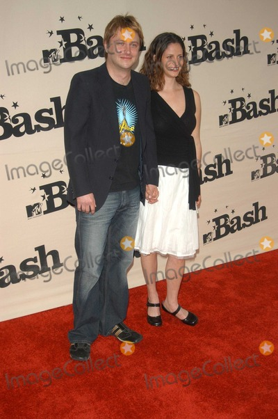 Andrea Savage Photo - Chris Hardwick and Andrea Savage at the MTV Bash honoring Carson Daily Palladium Hollywood CA 06-28-03