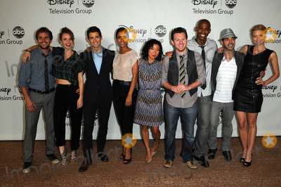 Michael Stahl-David Photo - Michael Stahl-David Kelli Garner Julian Morris Daniella Alonso Anne Son Keir ODonnell Mehcad Brooks Sebastian Suzzi and Jaime King at the Disney ABC Television Group Summer 2010 Press Tour Beverly Hilton Hotel Beverly Hills CA 08-01-10