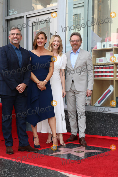 Bryan Cranston Photo - Steve Carell Jennifer Garner Judy Greer Bryan Cranstonat the Jennifer Garner Star Ceremony Hollywood Walk of Fame Hollywood CA 08-20-18