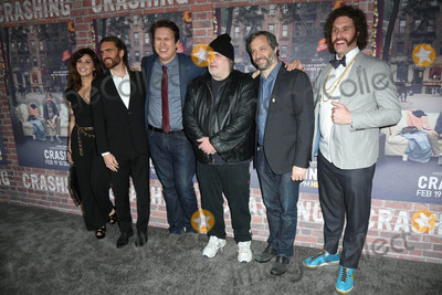 Artie Lang Photo - Gina Gershon George Basil Pete Holmes Artie Lange Judd Apatoat the Crashing Los Angeles Premiere Avalon Hollywood CA 02-15-17
