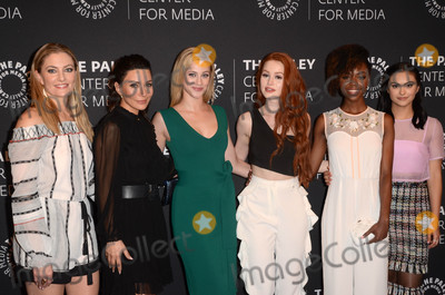 Ashleigh Murray Photo - Madchen Amick Marisol Nichols Lili Reinhart Madelaine Petsch Ashleigh Murray Camila Mendesat Riverdale Screening and Conversation presentted by the Paley Center for Media Beverly Hills CA 04-27-17