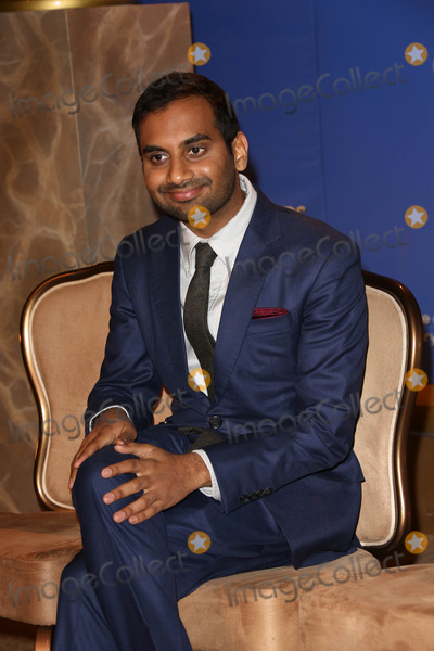 Aziz Ansari Photo - Aziz Ansariat the 71st Annual Gold Globe Awards Nominations Beverly Hilton Hotel Beverly Hills CA 12-12-13