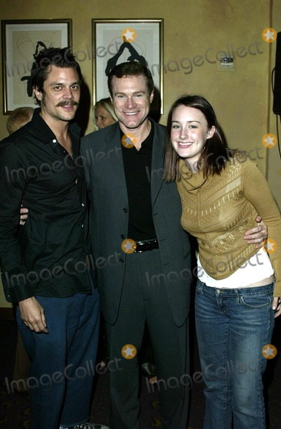 Ashley Johnson Photo - Johnny Knoxville David Keith and Ashley Johnson at the press conference and reception to kick off the Jason Foundations Teen Suicide prevention campaign at Spago Beverly Hills CA 09-18-02