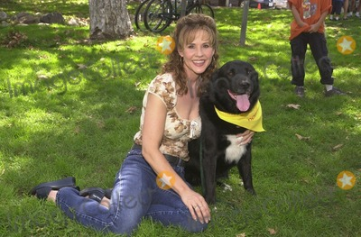 Johnny Carson Photo - Linda Blair at the Best Friends Animal Sanctuary Pet Adoption Festival at Johnny Carson Park Burbank CA 09-14-02