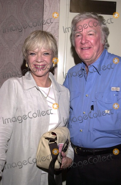 Anne Francis Photo - Anne Francis and James Best co-stars in the TZ Episode Jess-Belle at a Twilight Zone reunion and convention at the Beverly Garland Holiday Inn North Hollywood CA 08-24-02