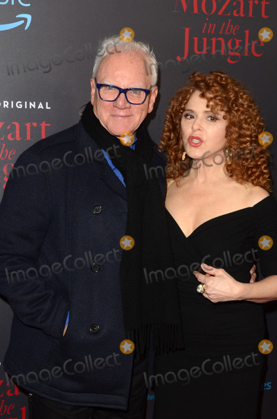 Bernadette Peters Photo - Malcolm McDowell Bernadette Petersat the Mozart In The Jungle Special Screening and Concert The Grove Los Angeles CA 12-01-16