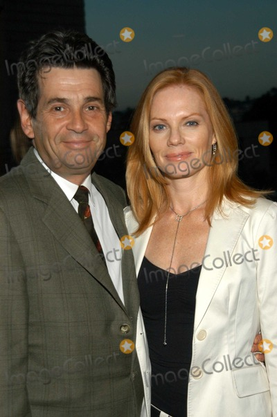Alan Rosenberg Photo - Alan Rosenberg and Marg Helgenberger at Voices of Our Children Benefit The Center at Cathedral Plaza Los Angeles Calif 10-18-03