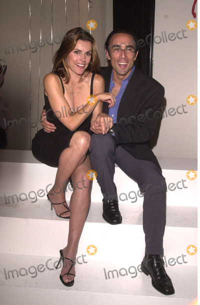 Alex Donnelly Photo -  Francesco Quinn and Alex Donnelly at the Young  The Restless 7000th Episode bash in Hollywood 09-28-00