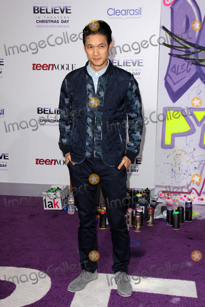 Harry Shum Jr Photo - Harry Shum Jrat the Justin Biebers Believe Premiere Regal Cinemas Los Angeles CA 12-18-13