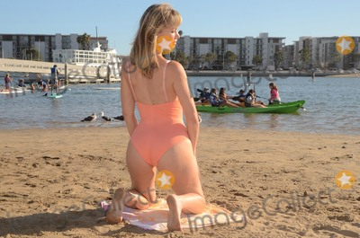 Rena Riffel Photo - Rena Riffelthe Showgirls Star in a sexy one-piece shoot on the beach  for a special Ma-Rena Del Rey story in Marina Del Rey Magazine Marina Del Rey CA 09-30-18