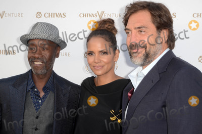 Javier Bardem Photo - Don Cheadle Halle Berry Javier Bardemat the Final Pitch Event from Chivas The Venture LADC Studios Los Angeles CA 04-13-17