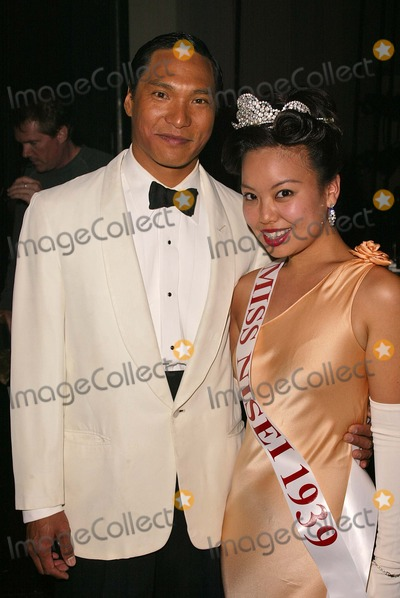 Jason Scott Lee Photo - Jason Scott Lee and Gina Hiraizumi on the set of the new film Only The Brave in Los Angeles Private Location 05-18-04