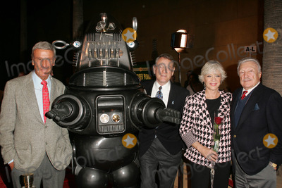 Anne Francis Photo - L-R Richard Anderson Robby The Robot Earl Holliman Anne Francis  and Warren Stevensat the 50th Anniversary Gala Screening of Forbidden Planet Egyptian Theatre Hollywood CA 11-08-06