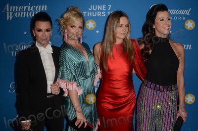 Alicia Silverstone Photo - Kyle Richards Mena Suvari Alicia Silverstone Jennifer Bartelsat the American Woman Premiere Party Chateau Marmont Los Angeles CA 05-31-18