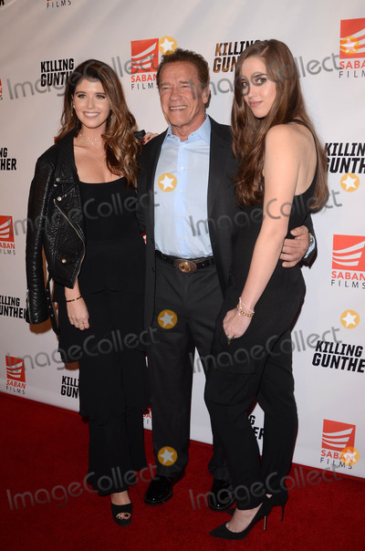 Arnold Schwarzenegger Photo - Katherine Schwarzenegger Arnold Schwarzenegger Christina Schwarzeneggerat the Killing Gunther Los Angeles Special Screening TCL Chinese 6 Hollywood CA 10-14-17