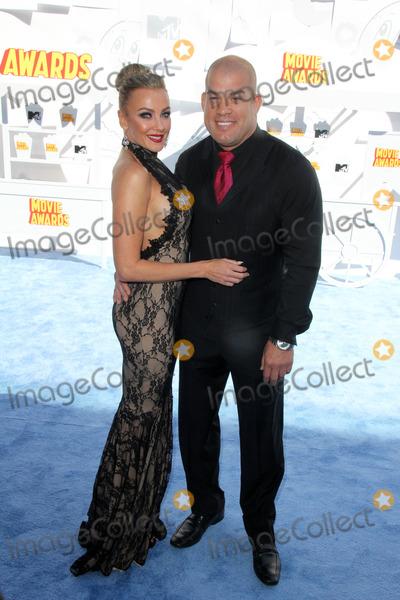 Amber Nicole Photo - Amber Nicole Miller Tito Ortizat the 2015 MTV Movie Awards Nokia Theater Los Angeles CA 04-12-15