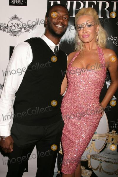 Aldis Hodge Photo - Aldis Hodge and Kaki West  at the FG Magazine Release Party 24k Lounge West Hollywood CA 12-19-08