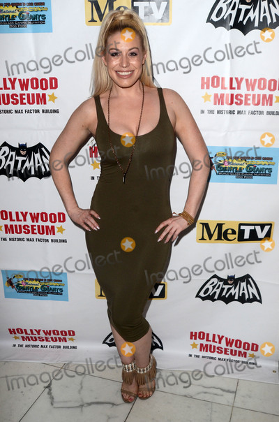 Batman Photo - Whitney Bowersat the Batman 66 Retrospective and Batman Exhibit Opening Night The World Famous Hollywood Museum Hollywood CA 01-10-18